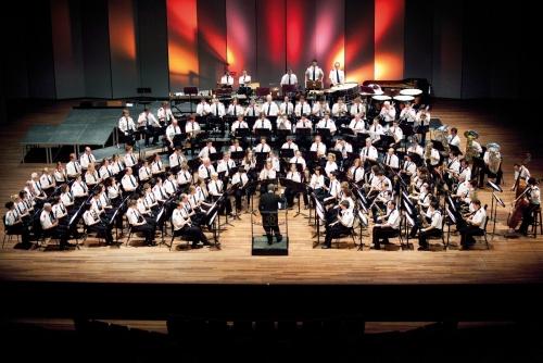 Harmonieorkest Sainte Cécile in het Vrijthof Theater